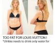 Modelka s veľkosťou 34 vyradená z prehliadky: príliš tučná pre Louis Vuitton!