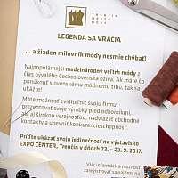 Legendárna výstava Trenčín Mesto Módy je späť!
