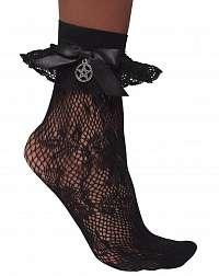 ponožky KILLSTAR - Mischief - BLACK - KSRA001893
