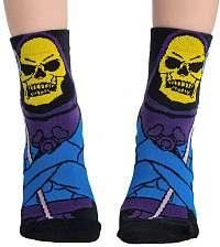 ponožky KILLSTAR - Skeletor - BLACK - KSRA002085