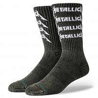 ponožky METALLICA - STACK - BLACK - STANCE - U556D19MES-BLK