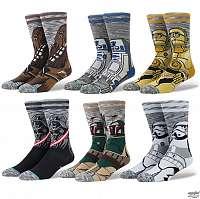 ponožky (sada 6 ks) STAR WARS - CLASSIC - STANCE - MD17PKCLA-MUL