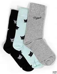 ponožky set (3páry) FEARLESS - WEIRD Girl - FIWAS-09