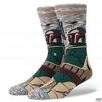 ponožky STAR WARS - BOUNTY - HUNTER GREY - STANCE - M545D17BOU-GRY