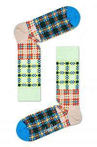 Happy Socks - Ponožky Tartan Square Sock