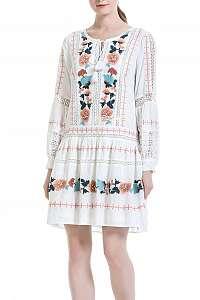 Anany biele šaty Porto White