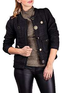 Anany čierny kabátik Valladolid Negro