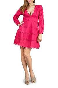 Anany fuchsiové šaty Natal Fuchsia