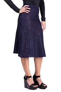 Anany modrá trblietavá sukňa Marbella Azul Marino
