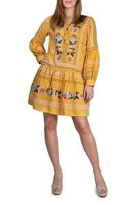 Anany žlté šaty Puebla