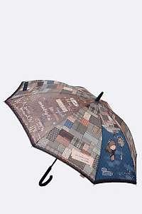 Anekke modrý palicový dáždnik Miss Anekke