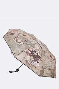 Anekke sivý skladací dáždnik Aviator