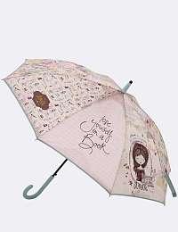 Anekke zelený palicový dáždnik Jane