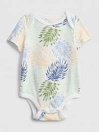 Baby body organic mix and match print bodysuit Farebná