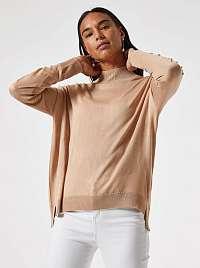 Béžový voľný ľahký sveter Dorothy Perkins