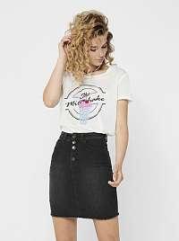 Biele tričko Jacqueline de Yong City