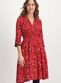 Blutsgeschwister červené šaty
