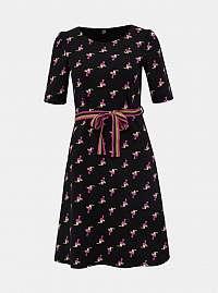Blutsgeschwister čierne šaty Toucan