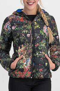 Blutsgeschwister farebná skladacia bunda Geisha Garden Jacket Secret Garden - XL