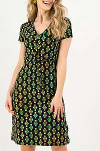 Blutsgeschwister farebné šaty Sally tomatoe Chic Antiek