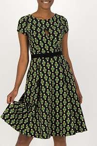 Blutsgeschwister farebné šaty Shine On Godess Chic Antiek