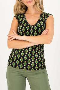 Blutsgeschwister farebné tričko Summer Sun Chic Antiek