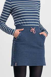Blutsgeschwister modrá sukňa Sporty Sister Skirt Retro Blue - XXL