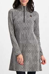 Blutsgeschwister sivé športové šaty Honest Heart Dress Obsidian Black - XL