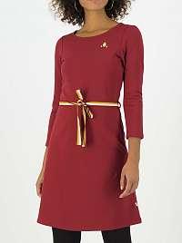 Blutsgeschwister vínové/bordové šaty Très Charmeuse