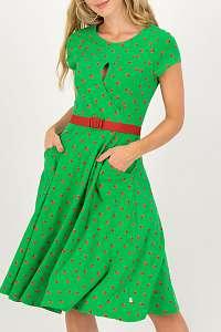 Blutsgeschwister zelené šaty Shine On Godess Ketchup Party
