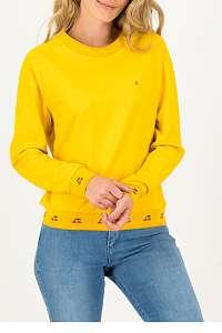 Blutsgeschwister žlté mikina Corn Yellow