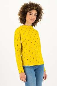 Blutsgeschwister žlté tričko Apres Ski