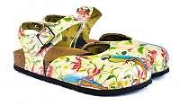 Calceo farebné sandále Classic Sandals Parrot