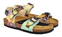 Calceo farebné sandále Classic Sandals Tropical