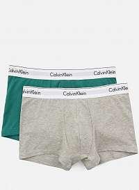 Calvin Klein 2 pack boxeriek Modern Cotton Stretch - XL