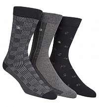 Calvin Klein 3 pack pánskych ponožiek 3pk Gift Box
