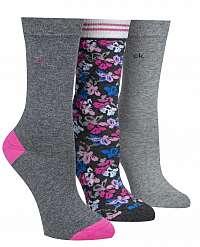 Calvin Klein 3 pack ponožiek Holiday Sparkle Floral