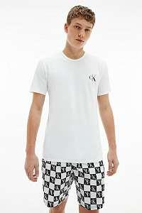Calvin Klein biele pánske pyžamo S/S Short Set