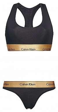 Calvin Klein čierna darčeková sada spodnej bielizne
