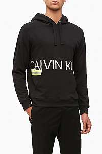 Calvin Klein čierna pánska mikina L/S Hoodie Hazard