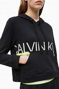 Calvin Klein čierne dámska mikina L/s hoodie Hazard