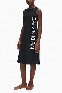 Calvin Klein čierne dievčenské šaty Tank Dress
