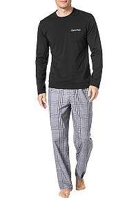 Calvin Klein čierne pánske pyžamo Black