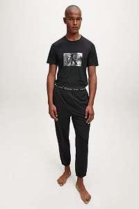 Calvin Klein čierny pánsky set SS/Jogger Set