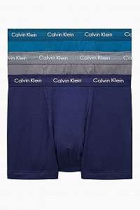 Calvin Klein farebné 3 pack pánske boxeriek Low Rise Trunk 3PK