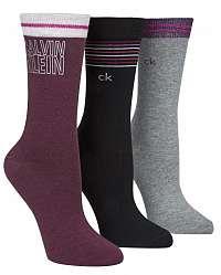 Calvin Klein farebný 3pack ponožiek 3pr Holiday Sparkle Logo