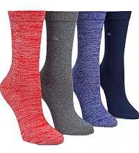 Calvin Klein farebný 4 pack ponožiek 4pr Holiday Sparkle