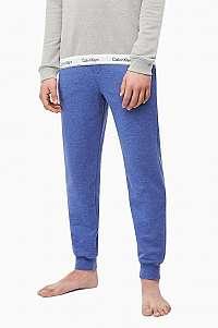 Calvin Klein modré pánske tepláky Jogger