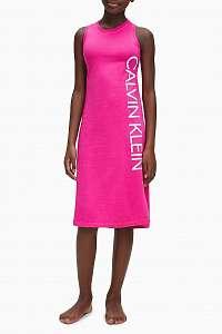Calvin Klein ružové dievčenské šaty Tank Dress
