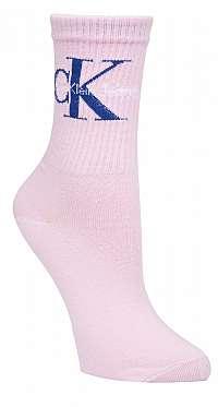 Calvin Klein ružové ponožky Jeans Logo --41